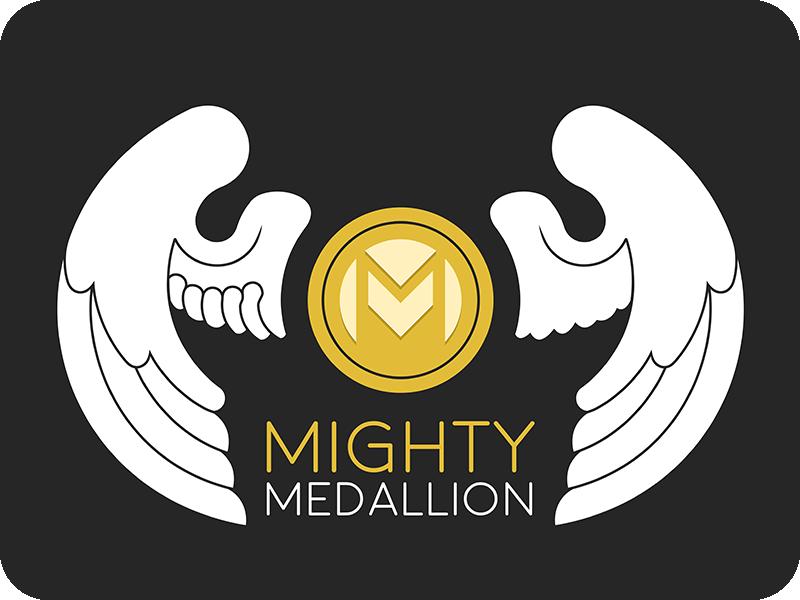 Mighty Medallion Logo Variant