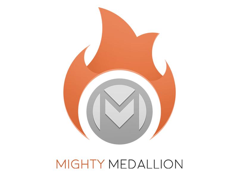 Mighty Medallion Logo